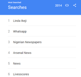 Photo of Superstar Blogger, Linda Ikeji, Tops Google Trends Searches For 2014 In Nigeria
