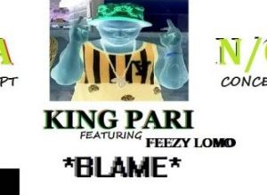 Photo of King Pari – Blame ft Feezy Lomo