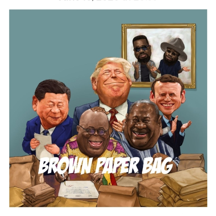 Photo of Music Release: Sarkodie – Brown Paper Bag ft. M.anifest
