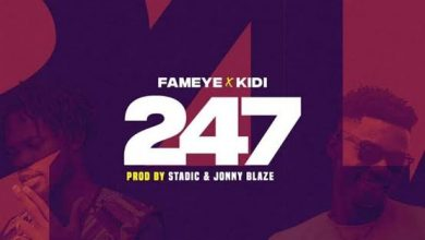 Photo of Download: Fameye – 247 ft. KiDi