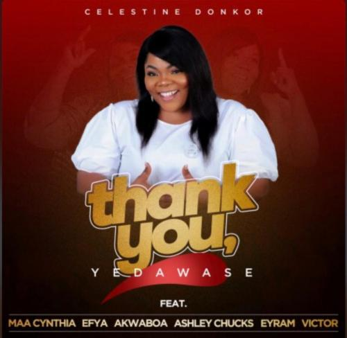Photo of Celestine Donkor – Thank You (Yedawase) Ft. Efya, Akwaboah, Maa Cynthia, Ashley Chucks, Eyram, Victor