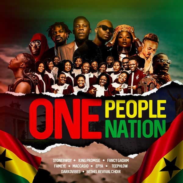 Stonebwoy – One People, One Nation ft. King Promise, Efya, Darkovibes, Fancy Gadam, Fameye, Maccasio, Teephlow, Bethel Revival Chior
