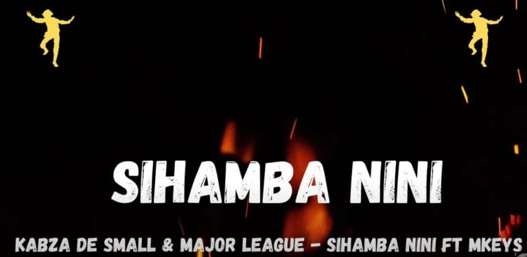 De Small & Major League Djz Sihamba Nini