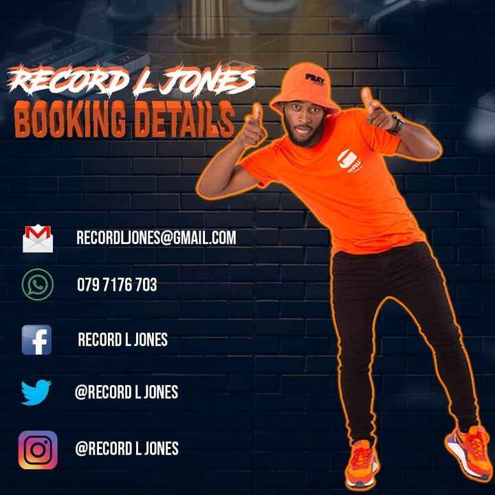 Record L Jones & DJ Corry Da Groove Tanquilla