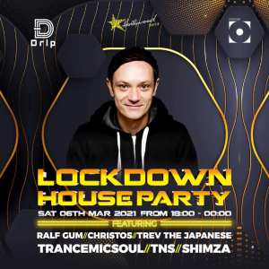 Ralf Gum  Lockdown House Party 6th March 2021
